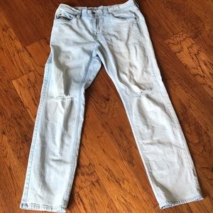Barely worn jeans